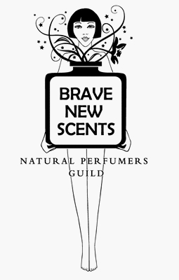 natural perfumers guild brave new scent logo