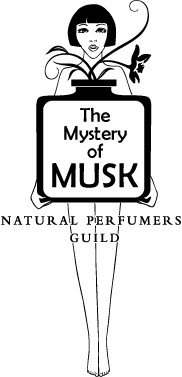 the mystery of musk logo natural perfumers guild project